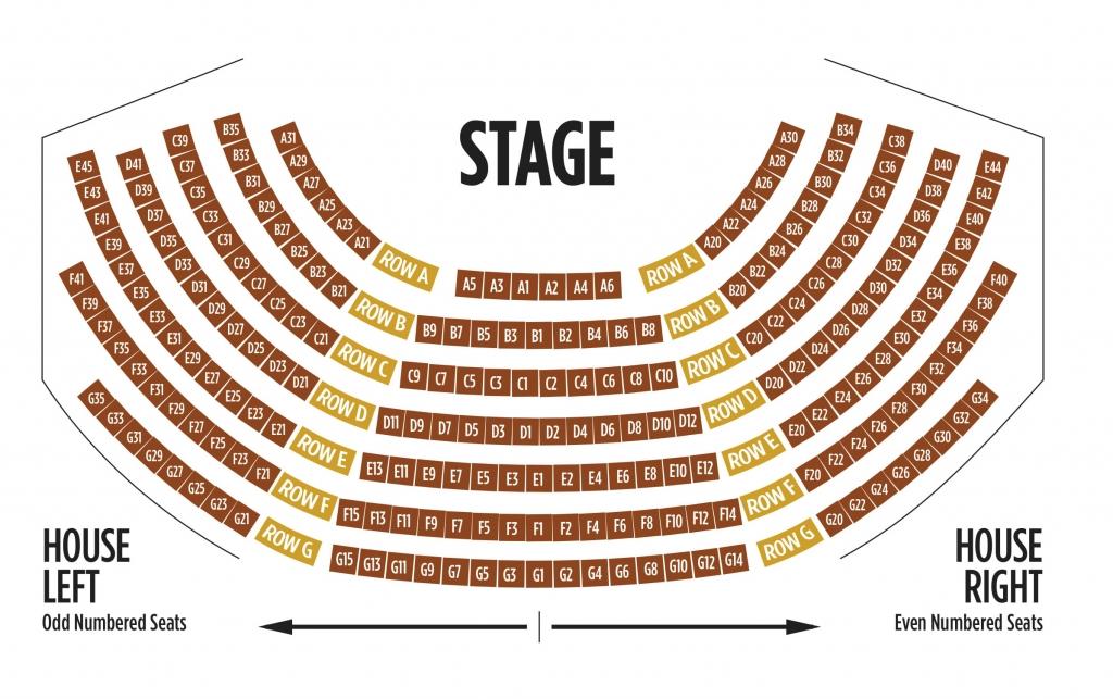 Seating Chart - Harlequin